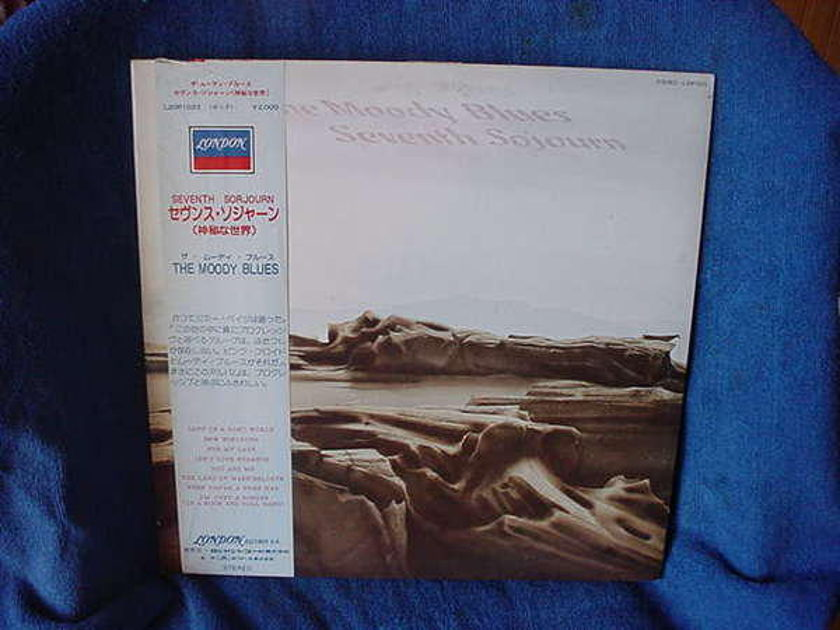 The Moody Blues - seventh Sojourn vhq japanese pressing 1972
