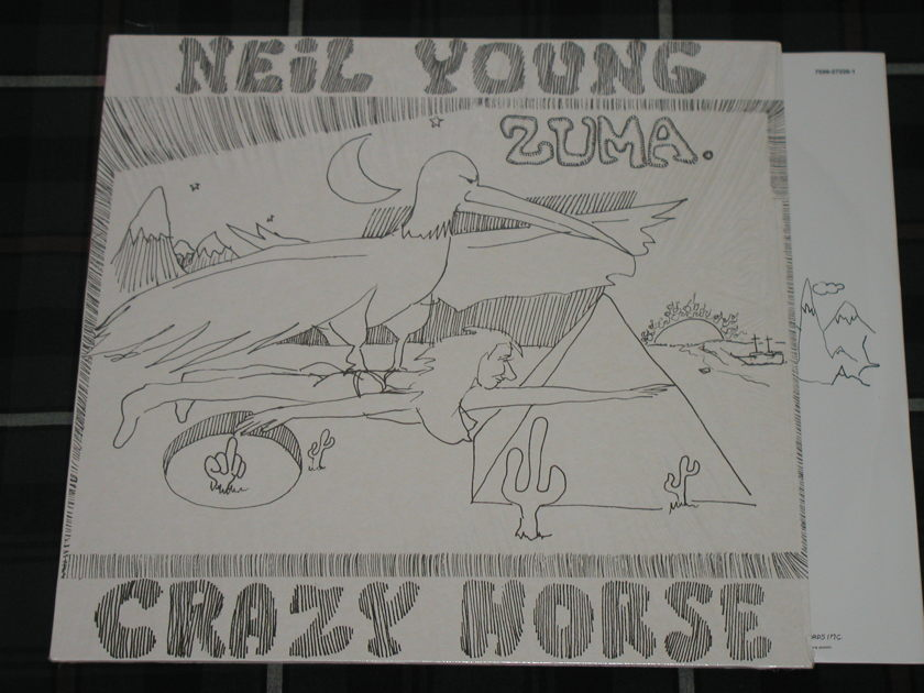 Neil Young Crazy Horse Zuma German Import Brand New
