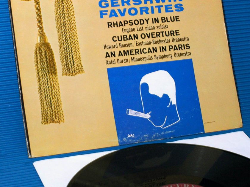 "GERSHWIN / Dorati / Hanson  - ""Gershwin Favorites"" -  Mercury Living Presence 1960"