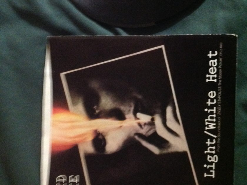 David Bowie - White Light White Heat 45 With Sleeve
