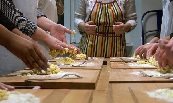 Мастер Класс в итальянской кулинарной школе