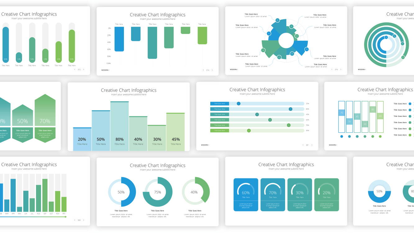 data distribution powerpoint template, creative chart infographic template, infographic powerpoint template, infographic presentation template