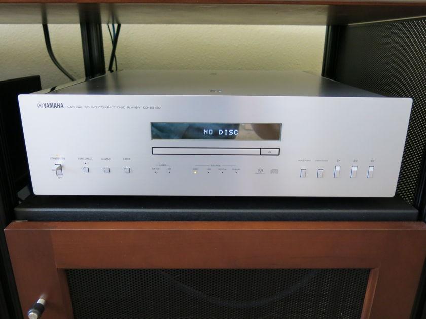 YAMAHA CD-S2100 SACD Player w/DAC Silver, MINT CONDITION