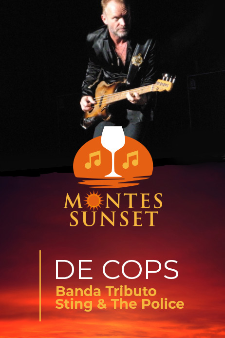 MONTES SUNSET TRIBUTO A STING & THE POLICE