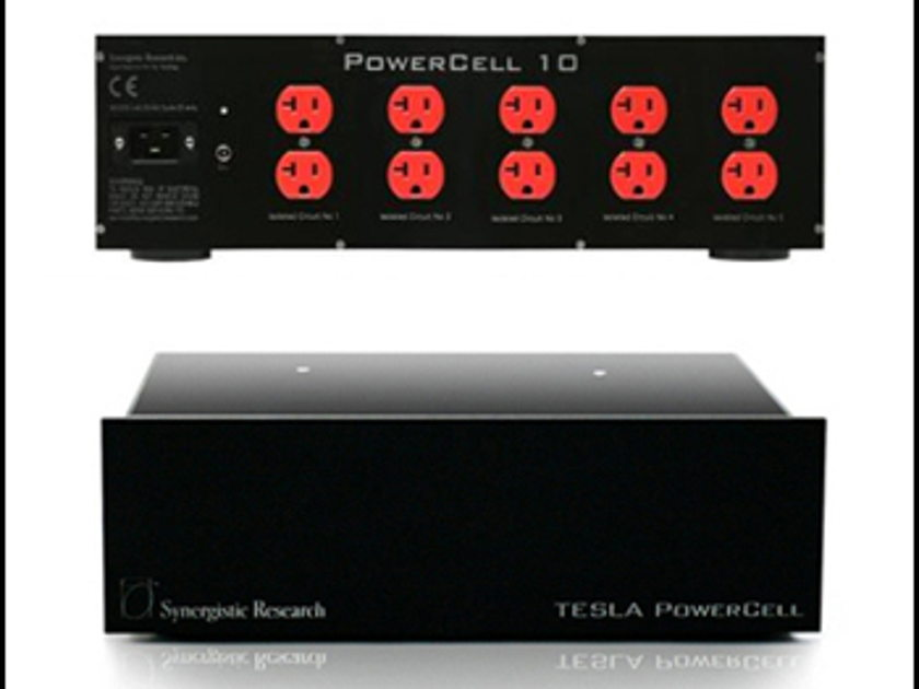 Synergistic Research Tesla PowerCell 10se MKII WITH GALILEO MPC & SYNERGISTIC PC