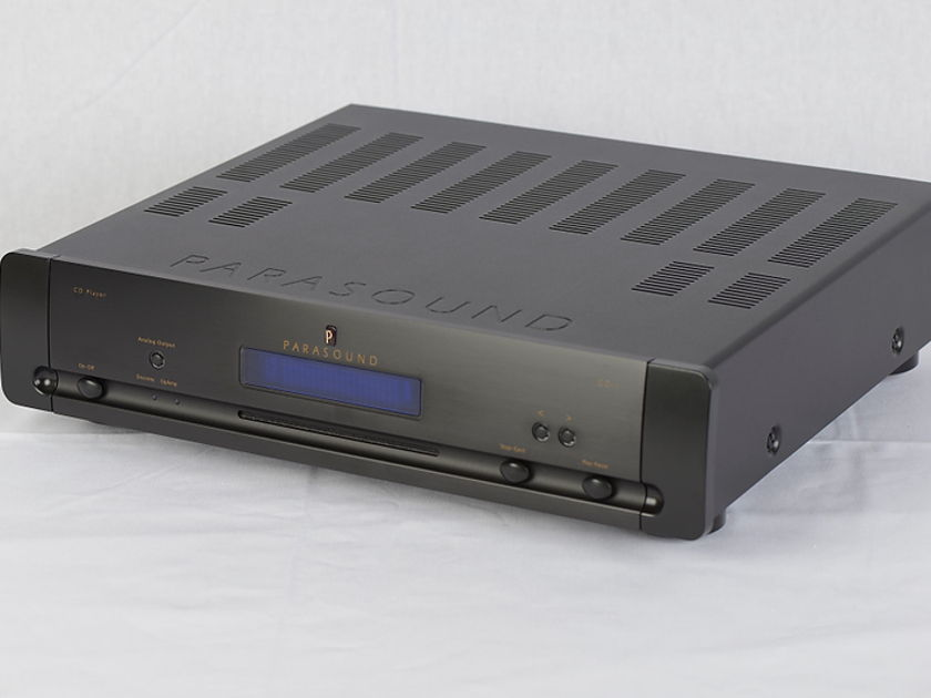 Halo By Parasound  CD-1 Award winning CD Player Black (Dealer Demo)