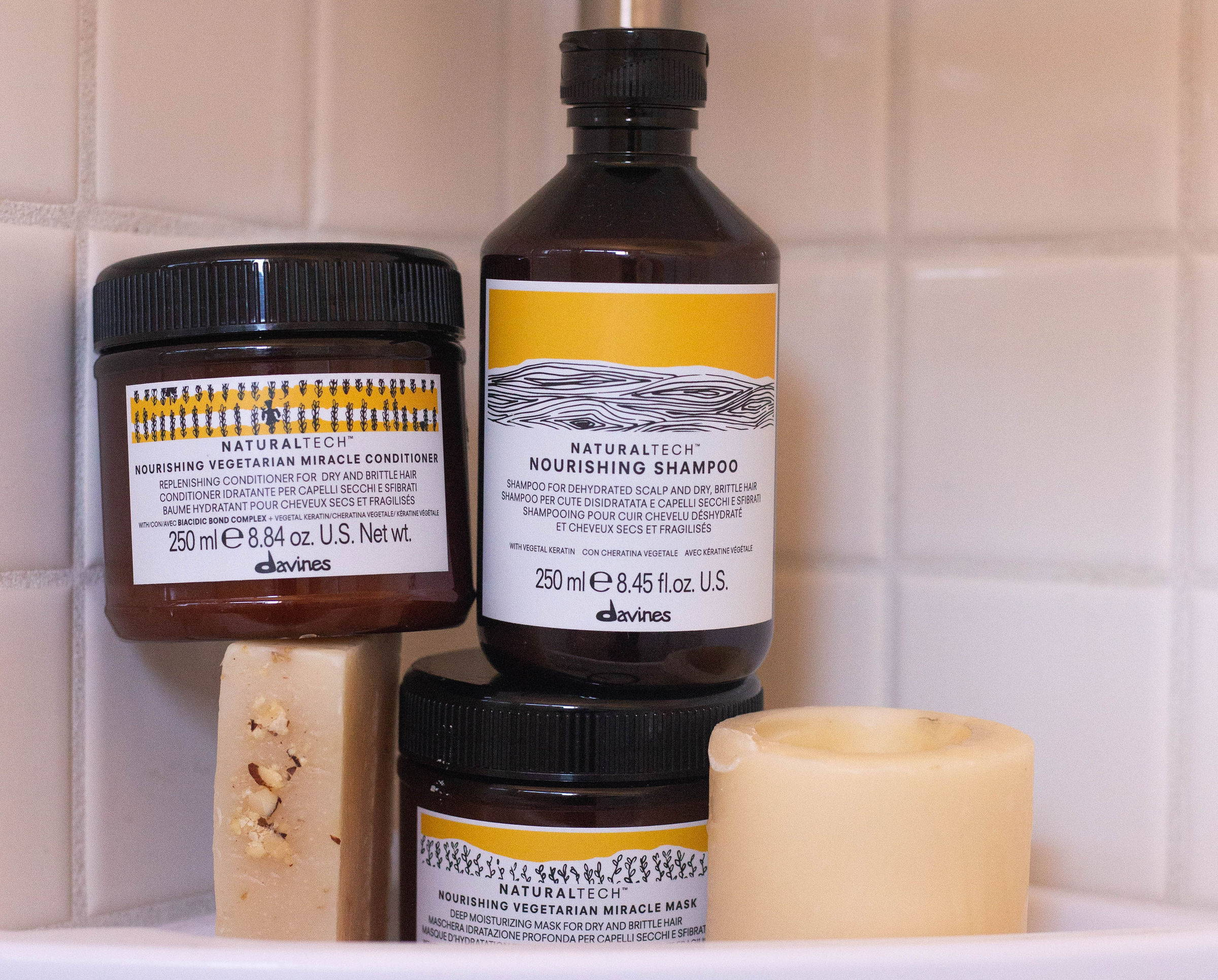 Davines Nourishing products hair care