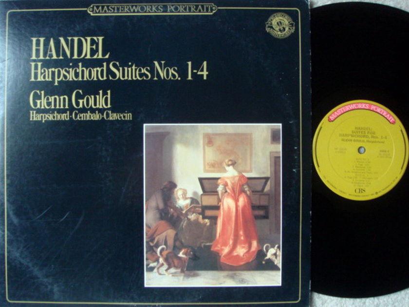 CBS / GLENN GOULD, - Handel Harpsichord Suites No.1-4, NM!