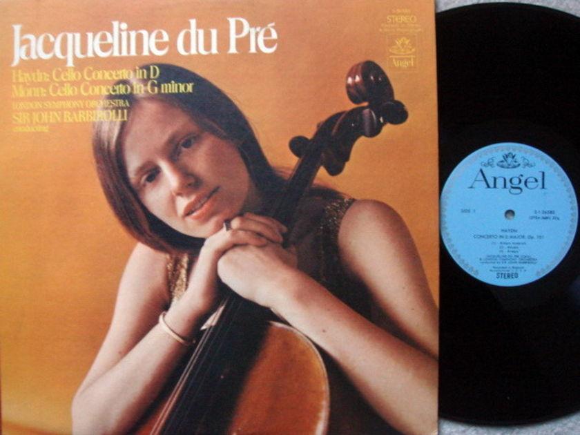 EMI Angel Blue / DU PRE, - Haydn-Monn Cello Concertos, MINT!