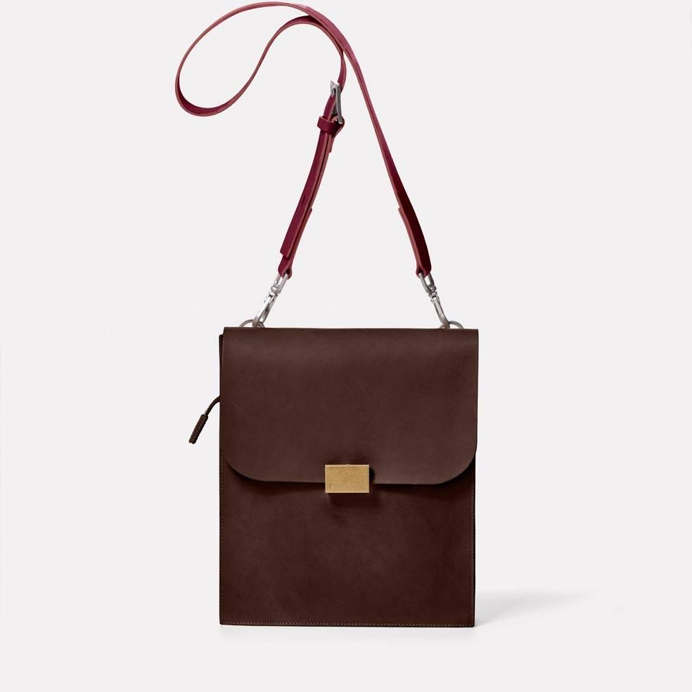 Lock Bag in Brown