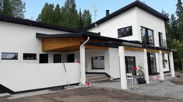 Rakennussaneeraus Antti K Oy, Muurame