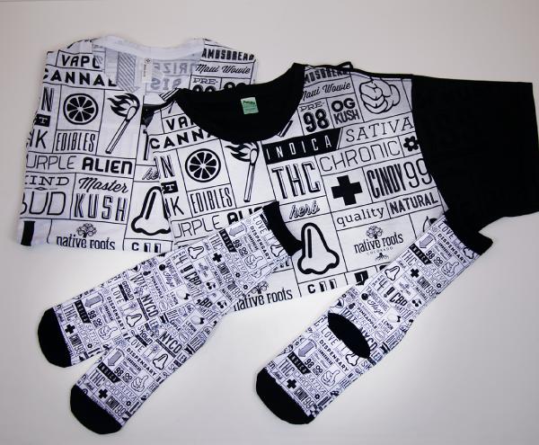 Custom Wholesale Activewear - Dye Sublimation Cut and Sew - THC Shirt