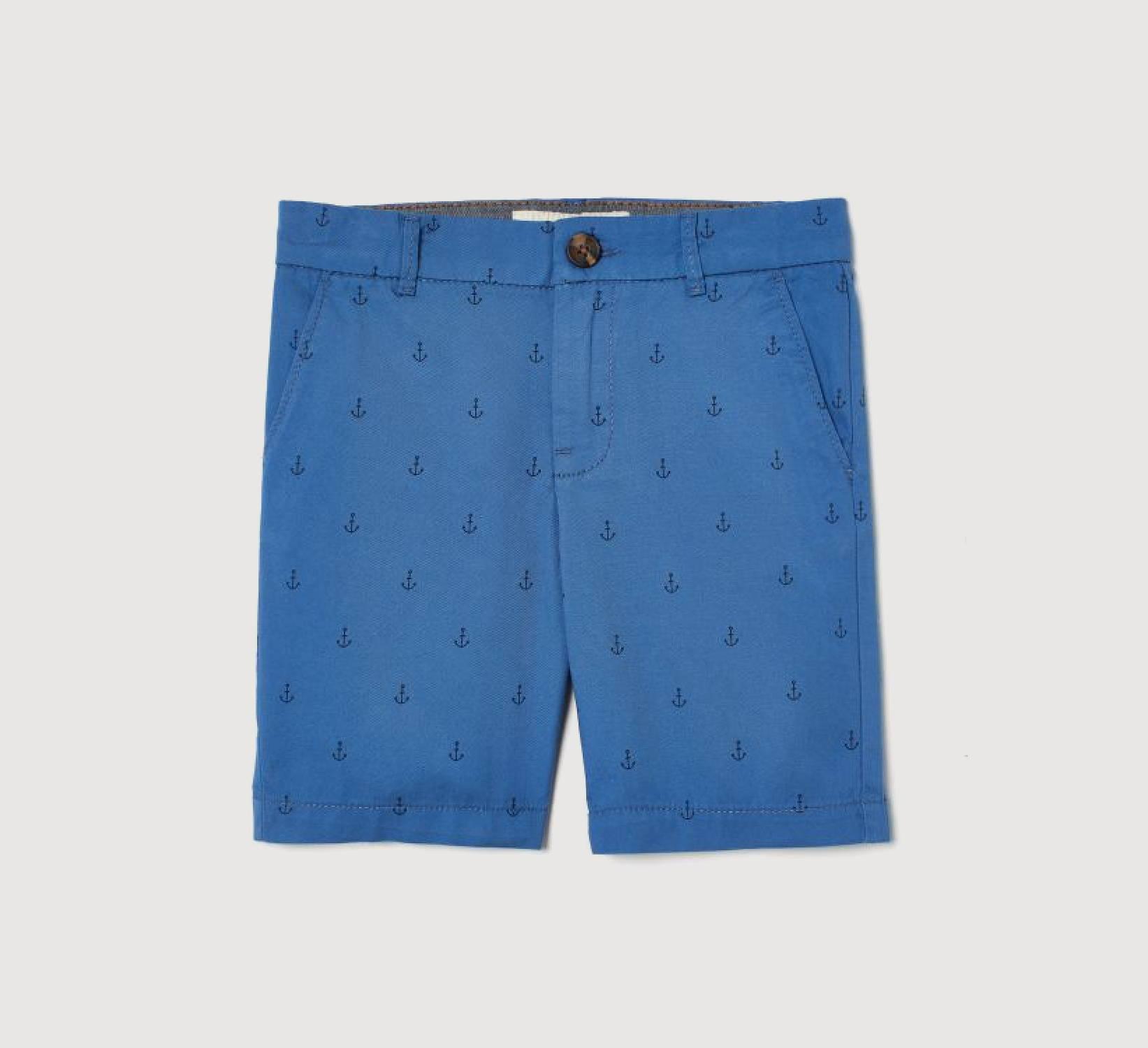 Ring Bearer Royal Blue Shorts