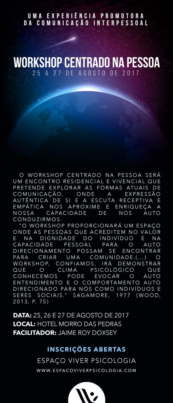 Workshop Centrado na Pessoa