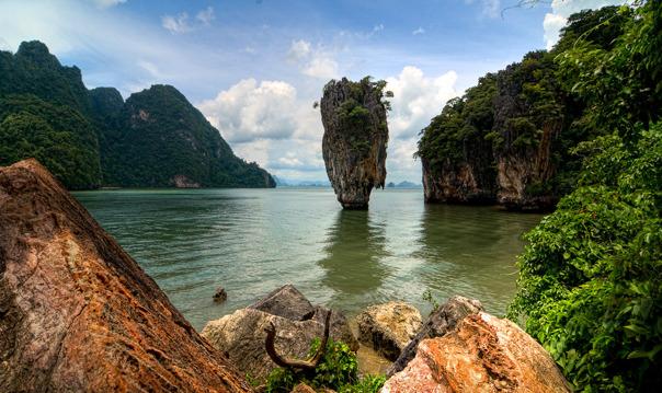 Остров Пханг Нга (остров Джеймса Бонда)