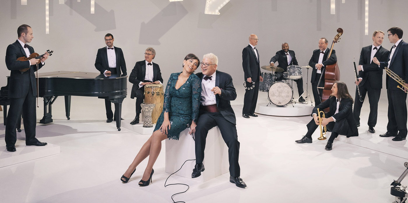 Pink Martini with China Forbes at the Shubert Theatre