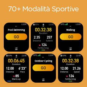 Amazfit GTS 2 mini - 70+ Modalita Sportive