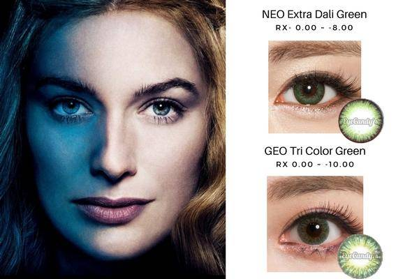 Cersei Lannister's Green Eyes