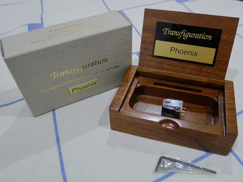 Transfiguration Audio Phoenix MC phono cartridge. Free shipping worldwide !