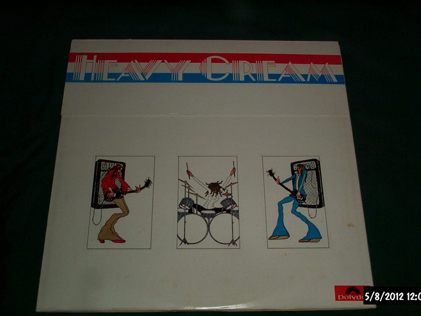 Cream - Heavy Cream 2 lp polydor 1972 nm