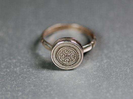 Серебряное кольцо Мавритания