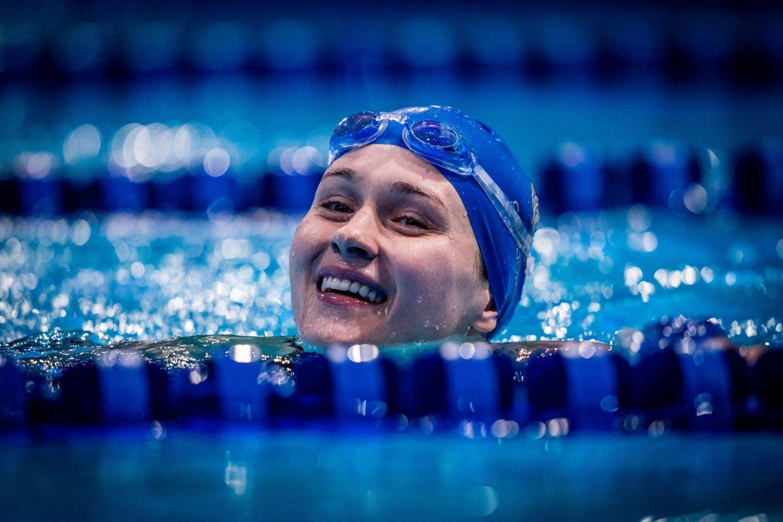 Olivia Smoliga international swimming league