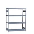 Rousseau Metal Grey Mini Racking with 4 shelves