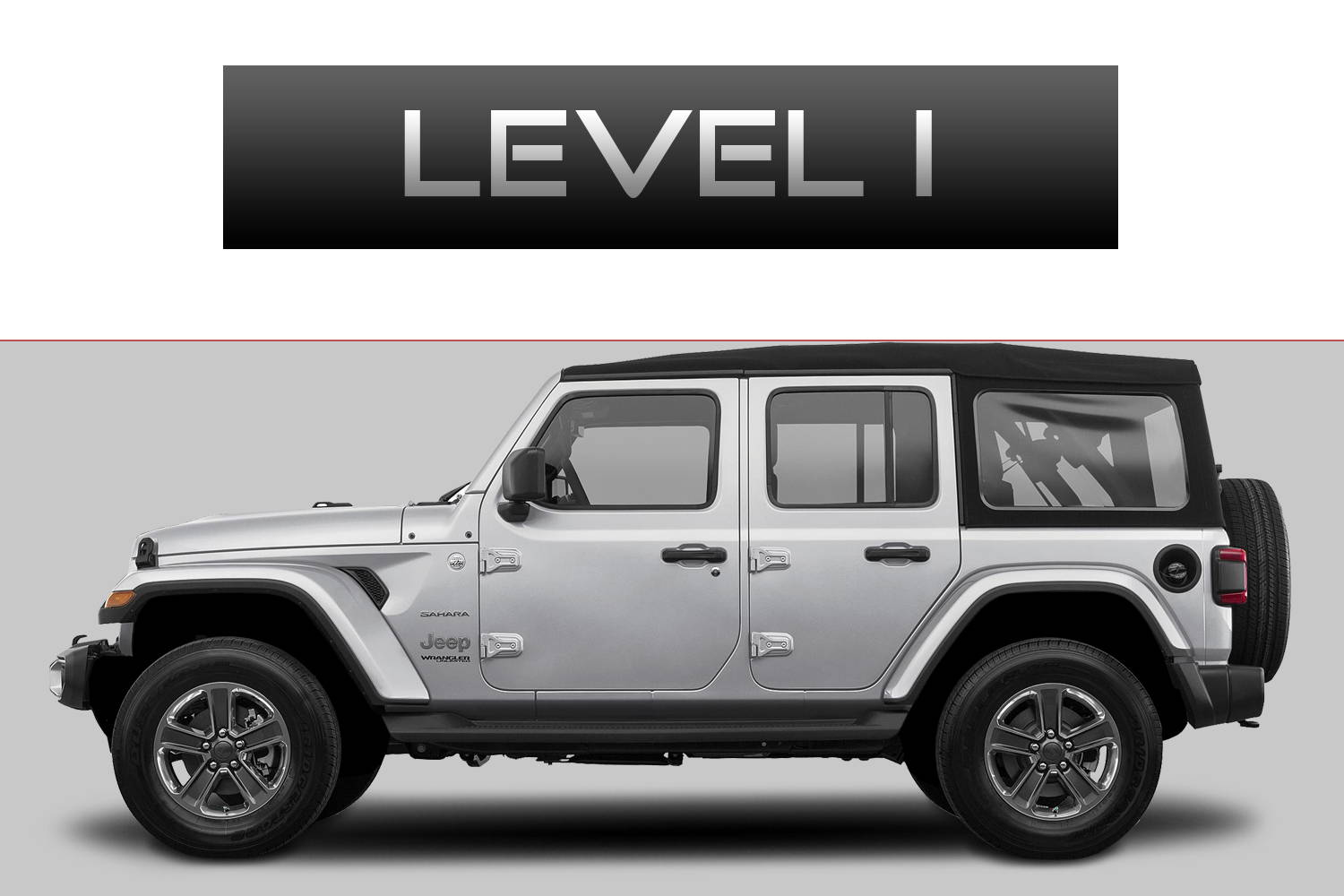 JEEP Wrangler JL Off-Road Customizing Package Level 1 by 3C Trucks