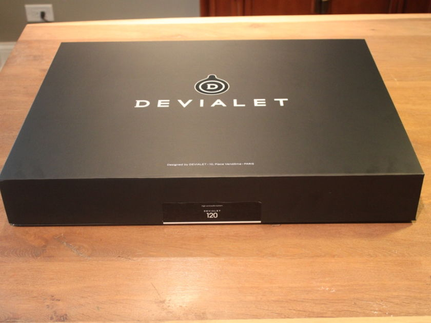 Devialet 120 - Like New Condition