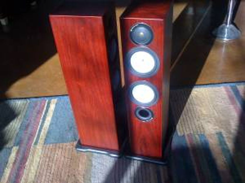Monitor Audio Silver RX6 Rosenut Floorstanding Speakers