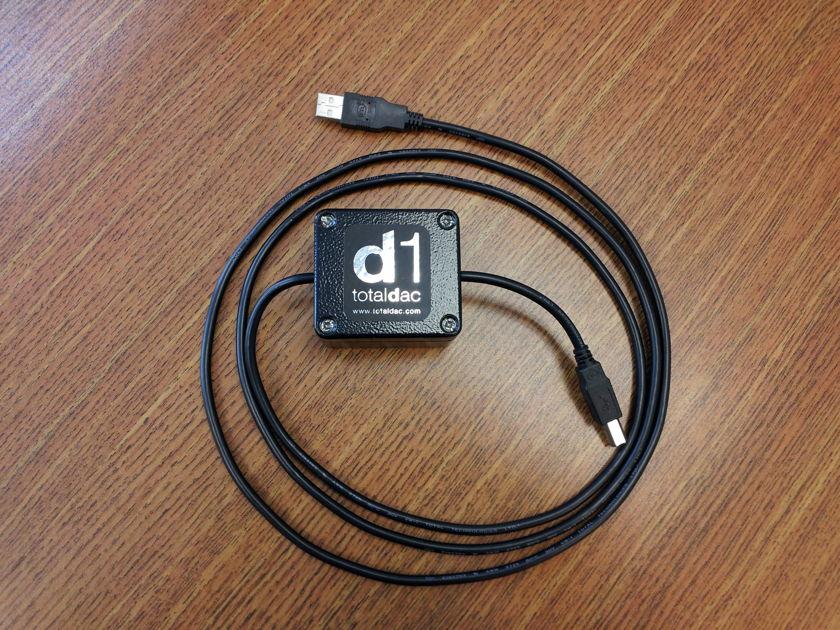 Totaldac D1 USB cable/filter