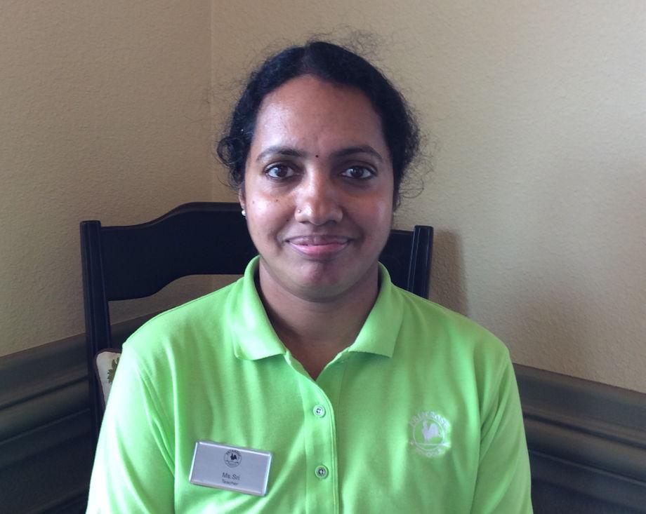 Ms. Sri , Older Infant Teacher