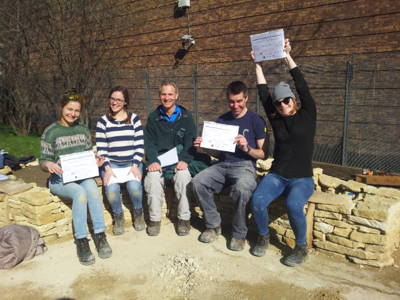 Dry Stone Walling Workshop in Central London