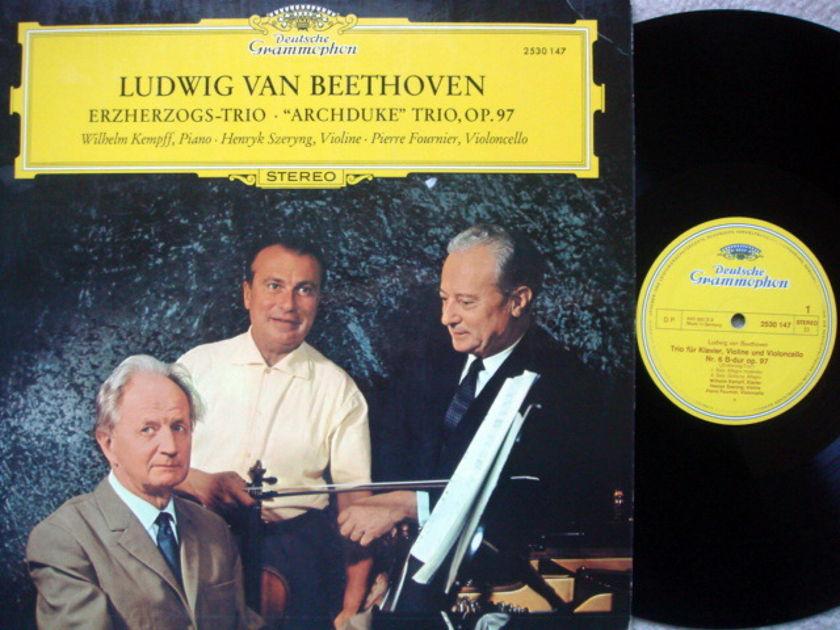 DG / FOURNIER-SZERYNG-KEMPFF, - Beethoven Archduke Trio, NM-!