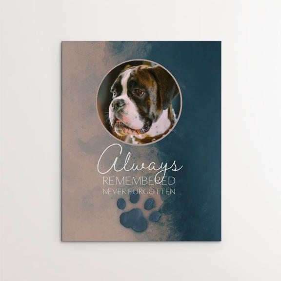Always Remembered, Never forgotten, Boxer dog memorial