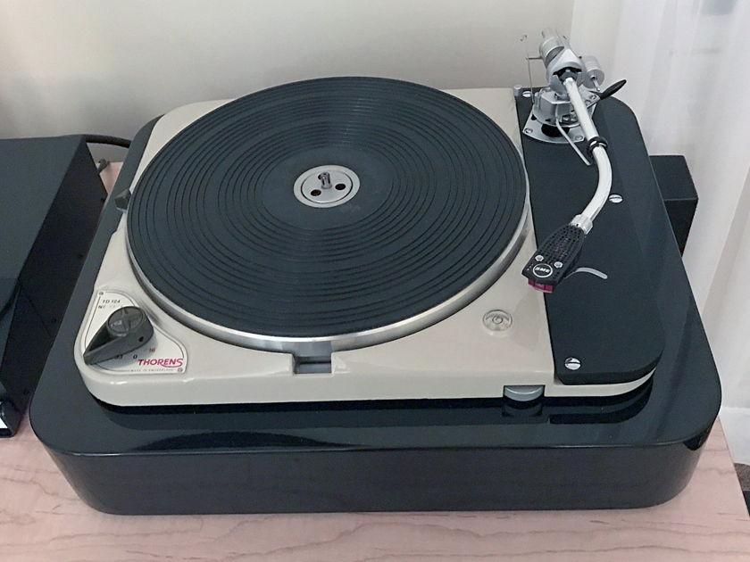 SME 3009 Series II with custom plinth and arm board