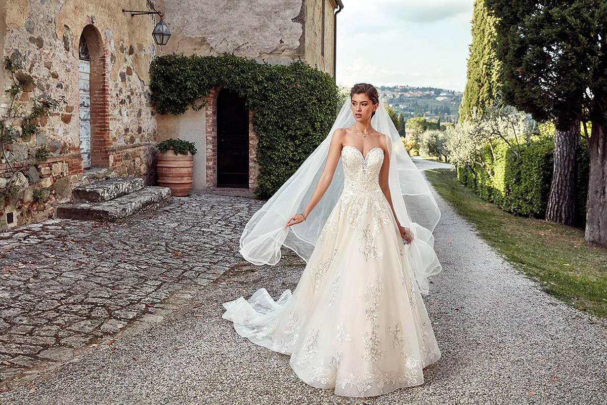 EDDY K ITALIA BRIDE LA WEDDING DRESS