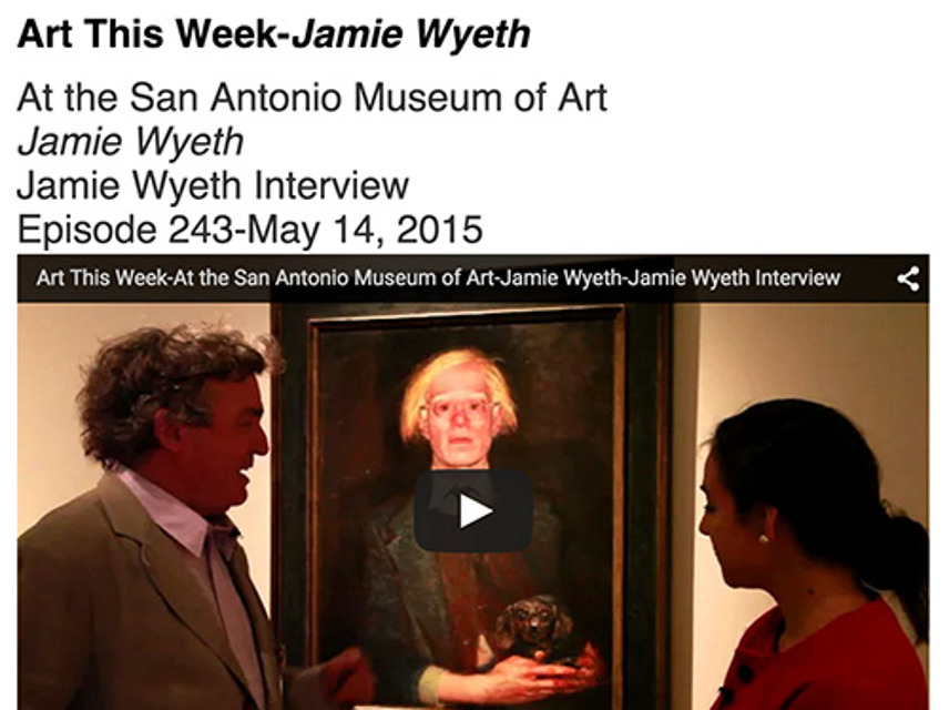 ArtWeek, Jaime Wyeth