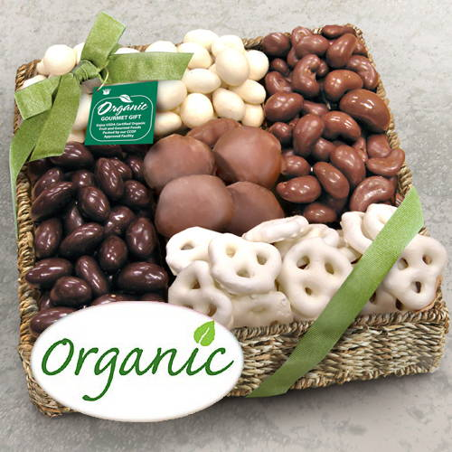 Organic Shades of Sweet Chocolate Gift Basket