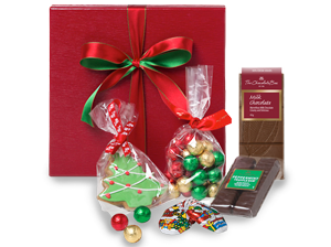 Christmas hamper under $40, the Treat Yourself Hamper