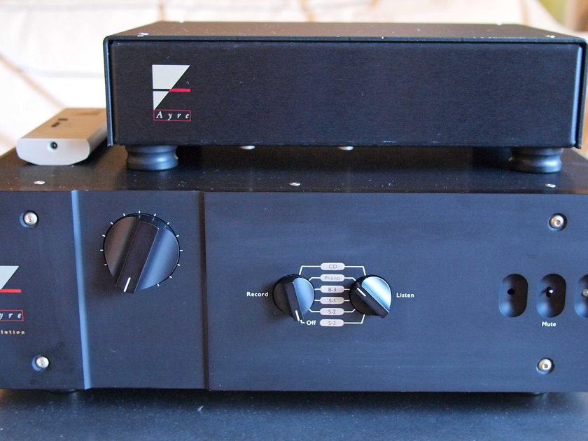 Ayre K-1xe preamp (with phono)