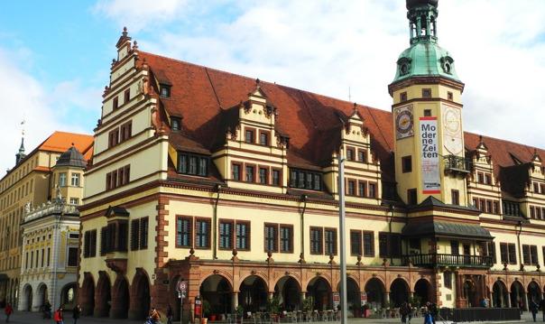 Поездка на автомобиле в Лейпциг с экскурсией по старому городу