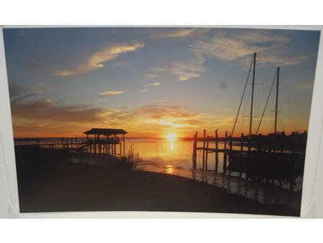 Shem Creek Sunset Photograph