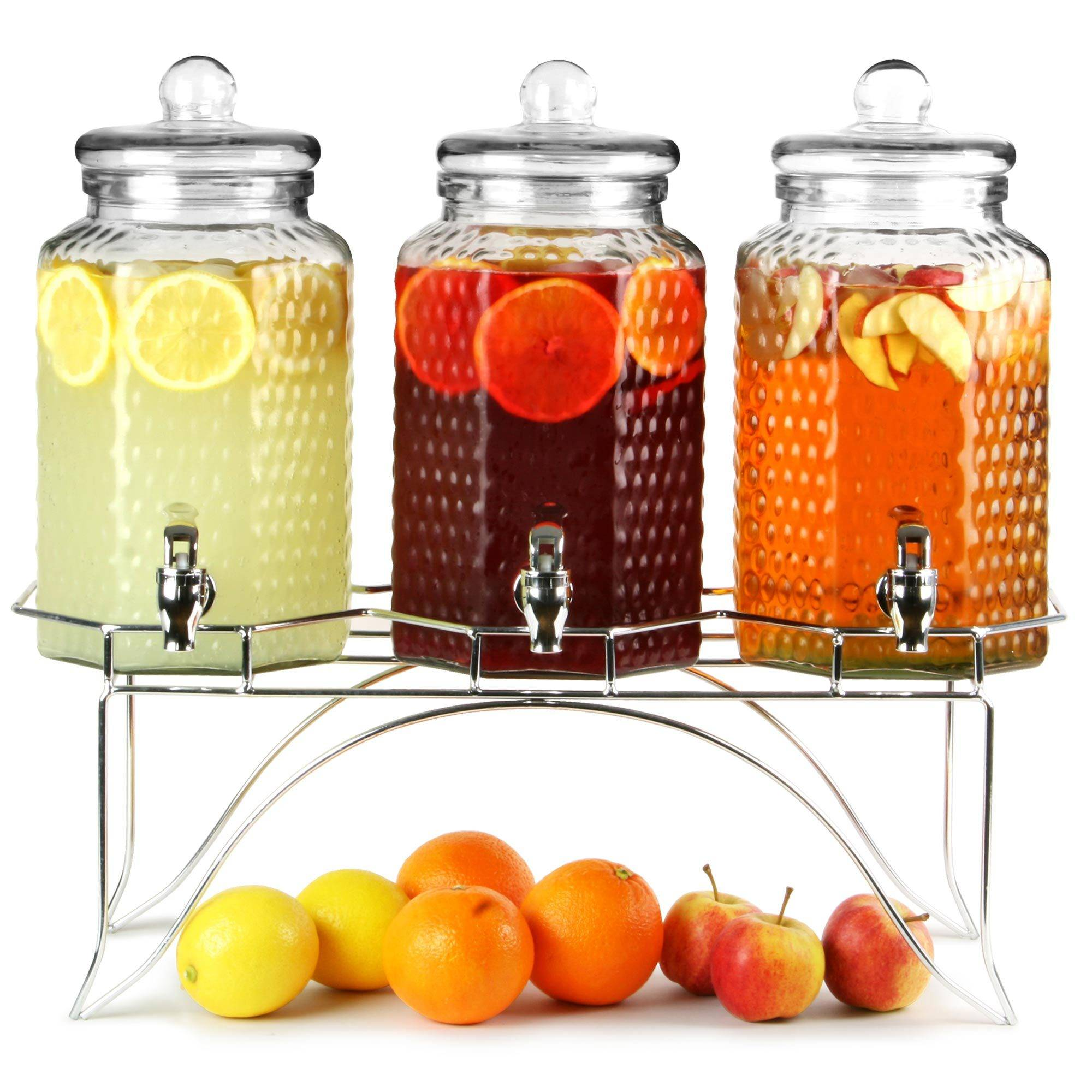 Infused drink dispensers
