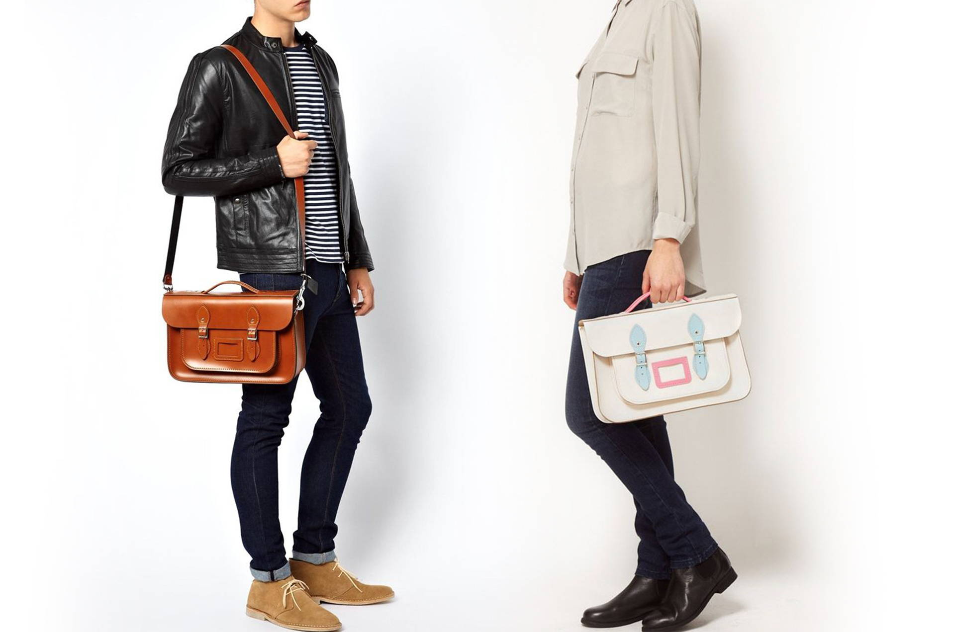 Unisex Leather Briefcases