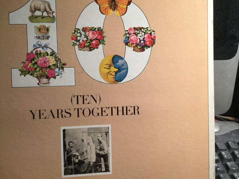 Peter, Paul, Mary - TEN Years together best of
