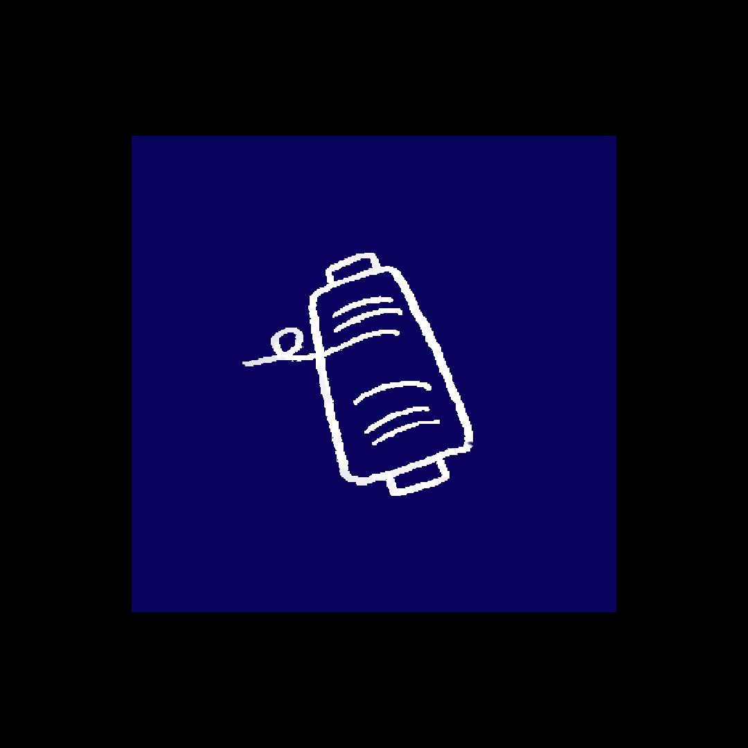 Nêge Paris - Icone bobine de fil