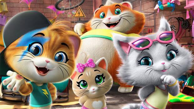 Детское радио приглашает в кино – на премьеру анимационного хита «44 котенка» - Новости радио OnAir.ru