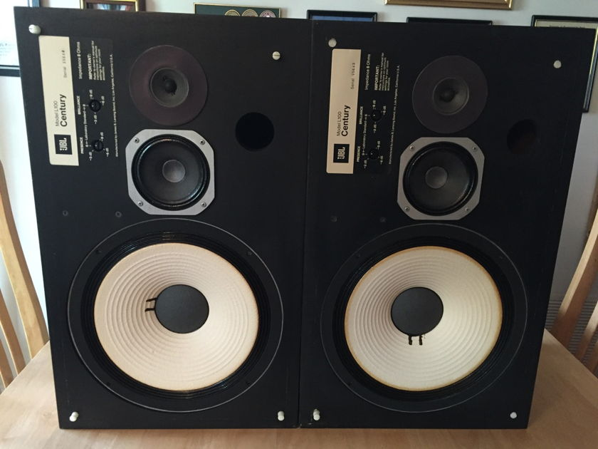 JBL L100 Century 3 Way Speaker System Pair – Local Pickup ONLY