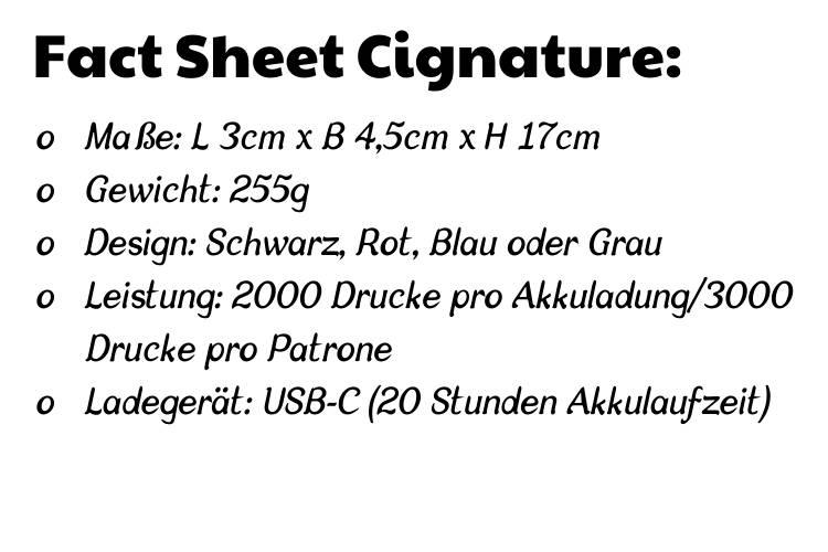 factsheet beverage printer